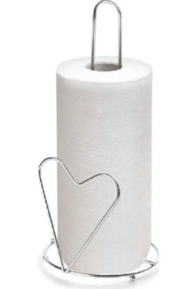 Ak Kalpli Dikey Kağıt Havlu Aparatı Paslanmaz Metal