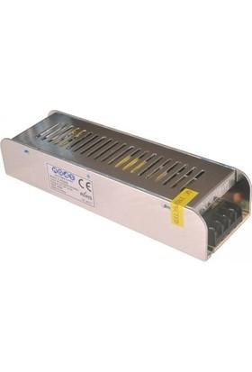 Noas 200 Watt 16,5 Amper 12 Volt Led Trafosu Kamera Adaptörü (Slim Kasa)