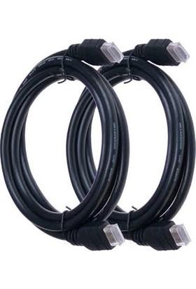 E-Depo 1,5 mt HDMI 1.4b 3D 2 Adet Kablo