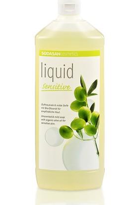 Sodasan Sıvı Sabun Zeytinyağlı Kokusuz Hassas - 1000 ML