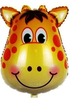 Kidspartim Zürafa Folyo Balon