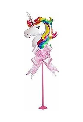 Kidspartim Unicorn Çubuklu Folyo Balon