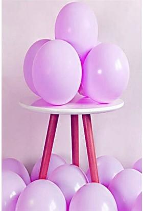 Kidspartim 10 lu Mor Makaron 12 inç Lateks Balon