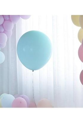 Kidspartim Mavi Makaron 18 inç Jumbo Balon