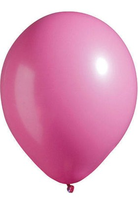 Kidspartim Metalik Fuşya Balon 12 inç