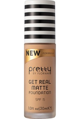 Flormar Pretty Mattifying Foundation - Mat Fondöten Light Ivory NO:003
