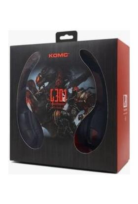 Komc G301 7.1 PC Oyuncu Kulaklığı - Kırmızı