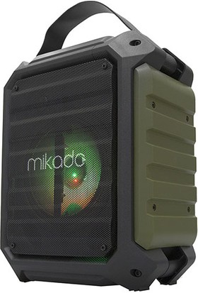 Mikado MD-115BT 20W 2 Adet Kablosuz El+ Baş-Ense Mikrofonlu Usb/sd Bluetoothlu Toplantı Anfisi