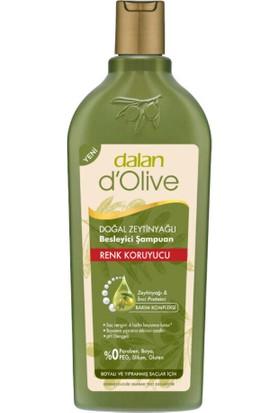 Dalan D'olive Zeytinyağlı Renk Koruyucu Şampuan 400 ml