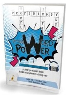 Crossword Power 50 Günde 500 Akademik Kelime (Audio Recordings for Revision and Pronunciation)