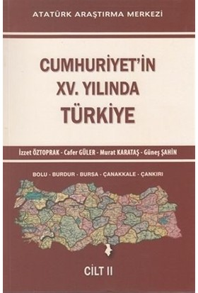 Cumhuriyet'in 15. Yılında Türkiye Cilt: 2
