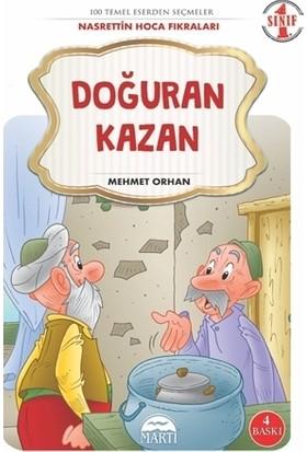 Doğuran Kazan - 1. Sınıf Nasrettin Hoca Fıkraları