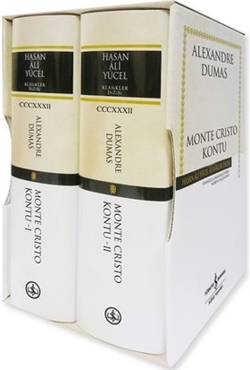 Monte Cristo Kontu - 2 Kitap Takım (Ciltli)