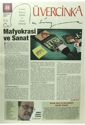 Üvercinka Dergisi Sayı : 34 Ağustos 2017