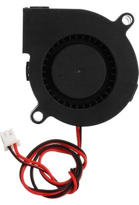 Salyangoz 3D Yazıcı Fan 5V 2 Kablo 50*50*15MM