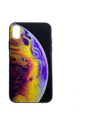 Eretna Apple iPhone 7/8 Plus Wallpaper Gezegen Tasarım Kılıfı