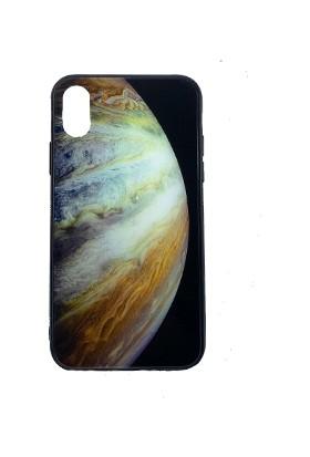Eretna Apple iPhone 7/8 Wallpaper Gezegen Tasarım Kılıfı