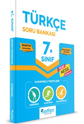 Netfen Yayınları 7. Sınıf Türkçe Soru Bankası