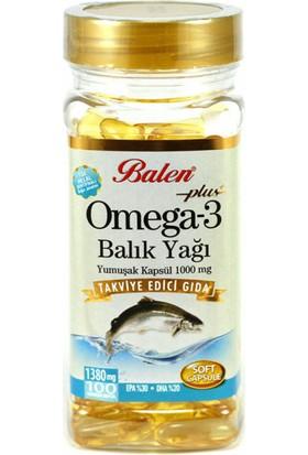 Balen Omega-3 (Balık Yağı) Içeren 100 Yumuşak Kapsül
