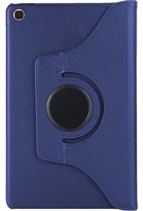 Case Street Samsung Galaxy Tab T720 S5E Kılıf Dönerli Standlı Kılıf Lacivert