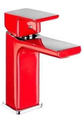 Eca Tıera Bı Color Kırmızı Krom Lavabo Bataryası 103308989