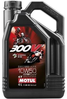 Motul 300V2 4t Factory Line 10W50 4 lt Motor Yağı