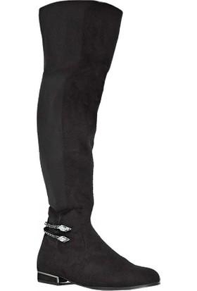 Guja 18K2219 Diz Üstü Kadın Çizme