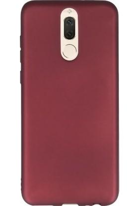Efsunkar Huawei Mate 10 Lite Premier Silikon Kılıf - Mürdüm