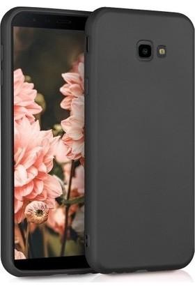 Efsunkar Samsung Galaxy J4 Plus Premier Silikon Kılıf - Siyah