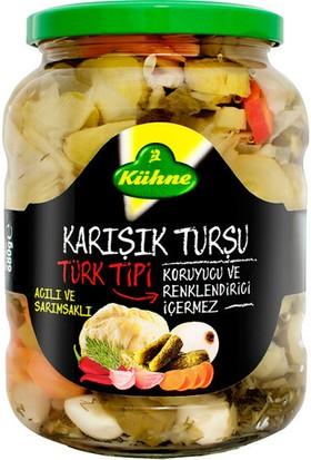 Kühne Türk Tipi Karışık Turşu 680 gr