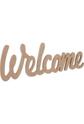 Okutan Hobi D46 Welcome Yazı