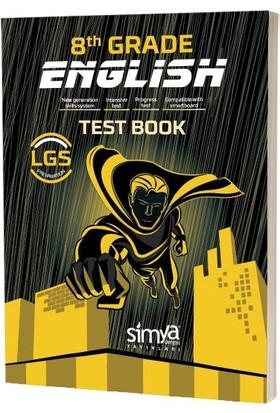 Simya Yayınları 8.Sınıf İngilizce Soru Bankası Kitabı