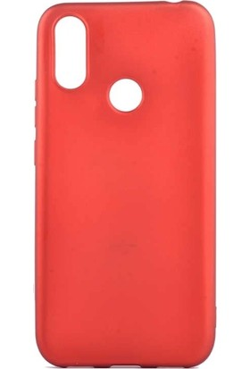 Teleplus Casper Via S Silikon Kılıf + Nano Ekran Koruyucu Kırmızı