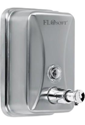 Flosoft FT675 Paslanmaz Sıvı Sabunluk 500 cc Pirinç Pompa