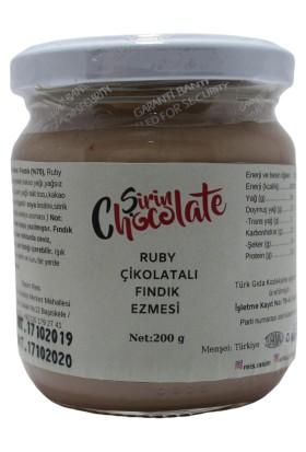 Şirin Chocolate Ruby Çikolatalı Fındık Ezmesi 200 g
