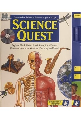 Science Quest - Interactive Science Fun for Ages 9 and Up