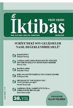İktibas Dergisi Sayı : 470 Şubat 2018