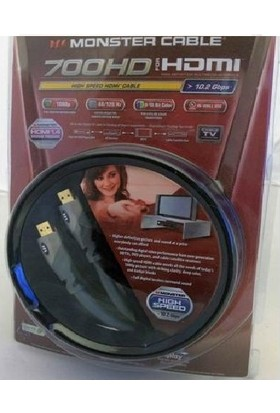 Monster 700 Hd 4K Altın Uçlu HDMI Kablo 2 mt