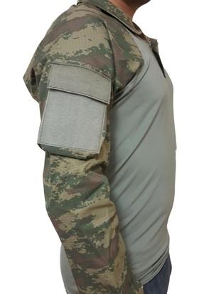 Askeri Combat OperasyonTişörtü Kara Kuvvetleri Bej