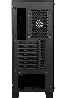Aerocool Cylon Pro RGB Tempered Glass USB 3.0 Siyah Kasa (AE CYLN PRO)