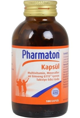 Pharmaton 100 Kapsül Multivitamin