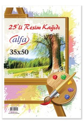 Alfa Resim Kağıdı 35 x 50 cm 25'li
