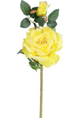 Çiçekmisin Çok Renkli Gül Yapay Çiçek