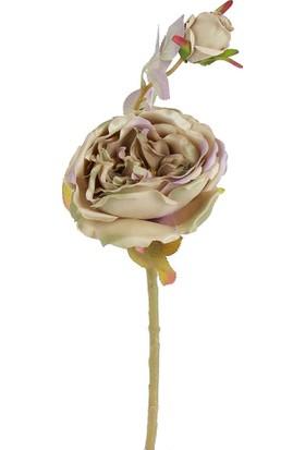 Çiçekmisin Dal Gül Yapay Çiçek