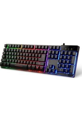 Mekanik Hisli Gaming Oyun Oyuncu Klavyesi Işıklı ZYG-800 Rgb