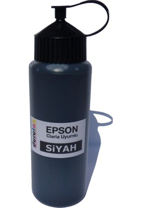 Duruink Epson T0791 T0796 T0801 T0806 500 ml Kartuş Dolum Mürekkebi - Siyah