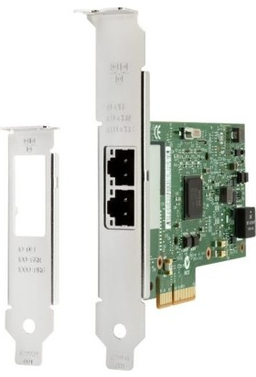 Hp Intel I350-T2 2 Port GB Nic Network Adapter V4A91AA