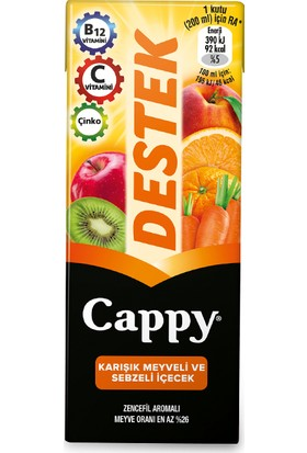 Cappy Destek 200 ml 27'li Paket