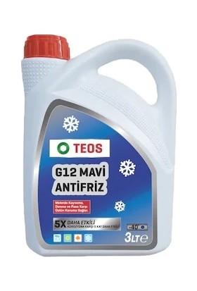 Teos -40° Organik Mavi Antifriz 3 LT Güneş Panellerine Uygundur