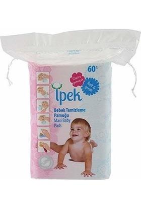 Ipek Bebek Temizleme Pedi Maxi 60,lı 16,lı Koli